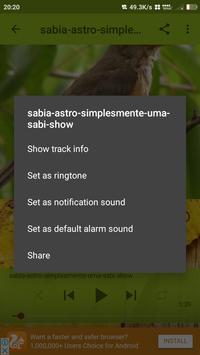 sabia laranjeira canto classic apk screenshot