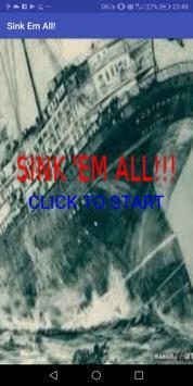 Sink'em All! poster