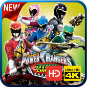 Power Rangers Dino Charge Wallpapers HD 4K icon