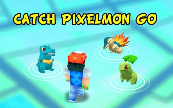 Catch Pixelmon GO! poster