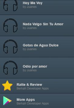 Juanes Letras Completa apk screenshot