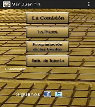 San Juan 2014 poster