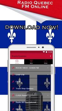 Radio Quebec, Quebec Music News Fm Canada poster