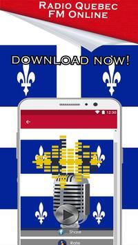 Radio Quebec, Quebec Music News Fm Canada apk screenshot