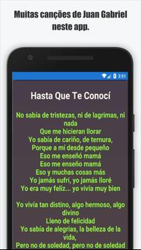 Juan Gabriel Musica Letra apk screenshot