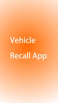 Vehicle Recall screenshot 1
