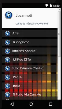 Song Lyrics Jovanotti screenshot 1