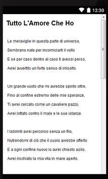 Song Lyrics Jovanotti screenshot 2
