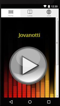 Song Lyrics Jovanotti screenshot 4