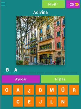 Adivinar Ciudades de España screenshot 3
