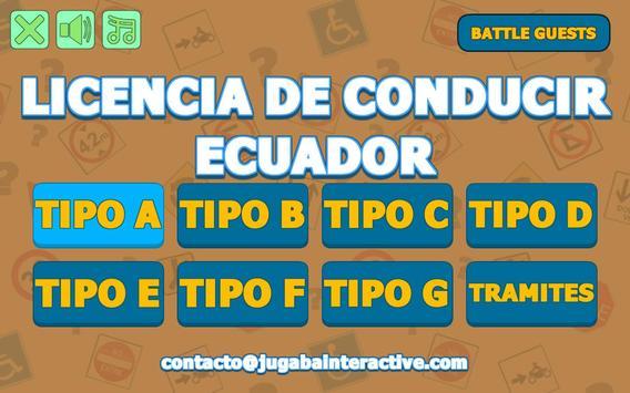 Mi Licencia de Conducir - Ecuador poster