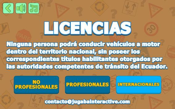 Mi Licencia de Conducir - Ecuador screenshot 1