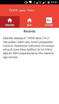 FKKMI Jawa Timur poster