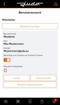 myJUDO screenshot 2