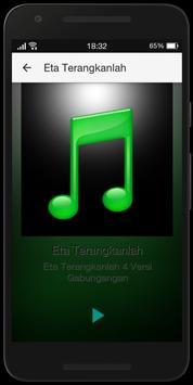 Lagu Eta Terangkanlah Mp3 Terpopuler apk screenshot