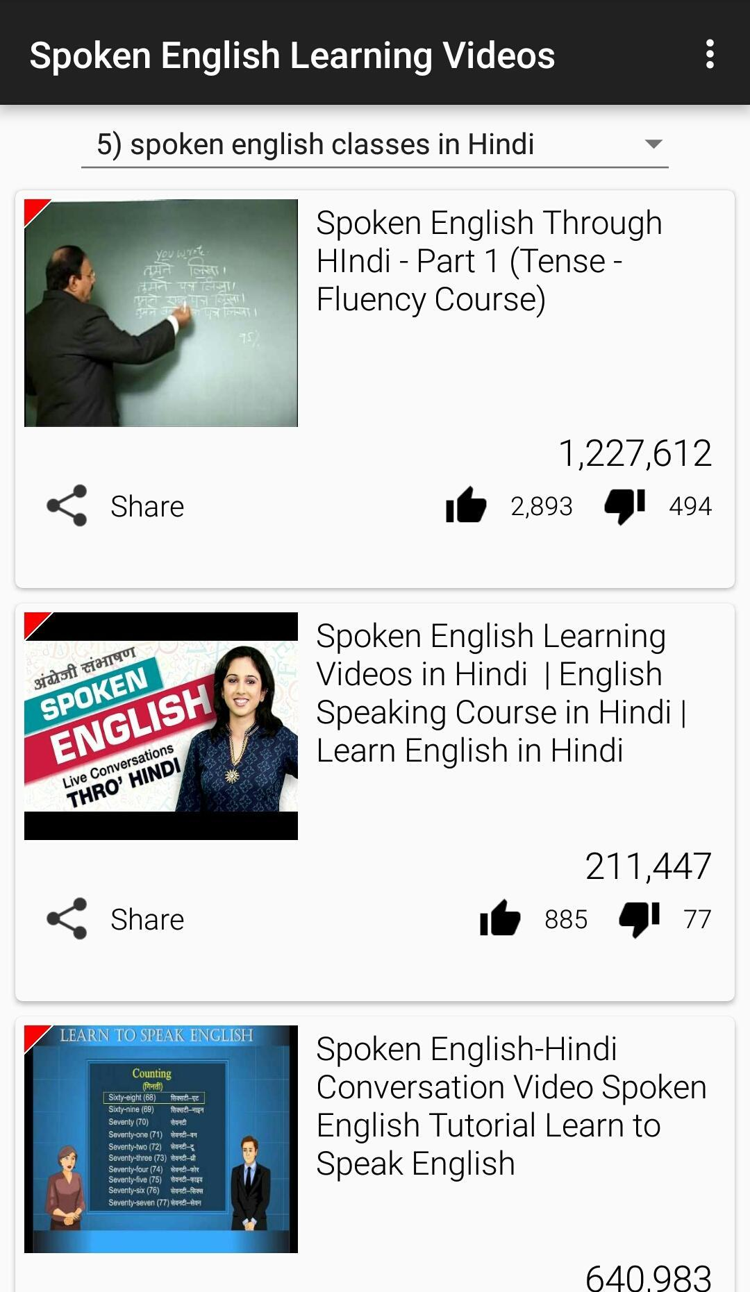 Spoken English Learning Videos for Android - APK Download