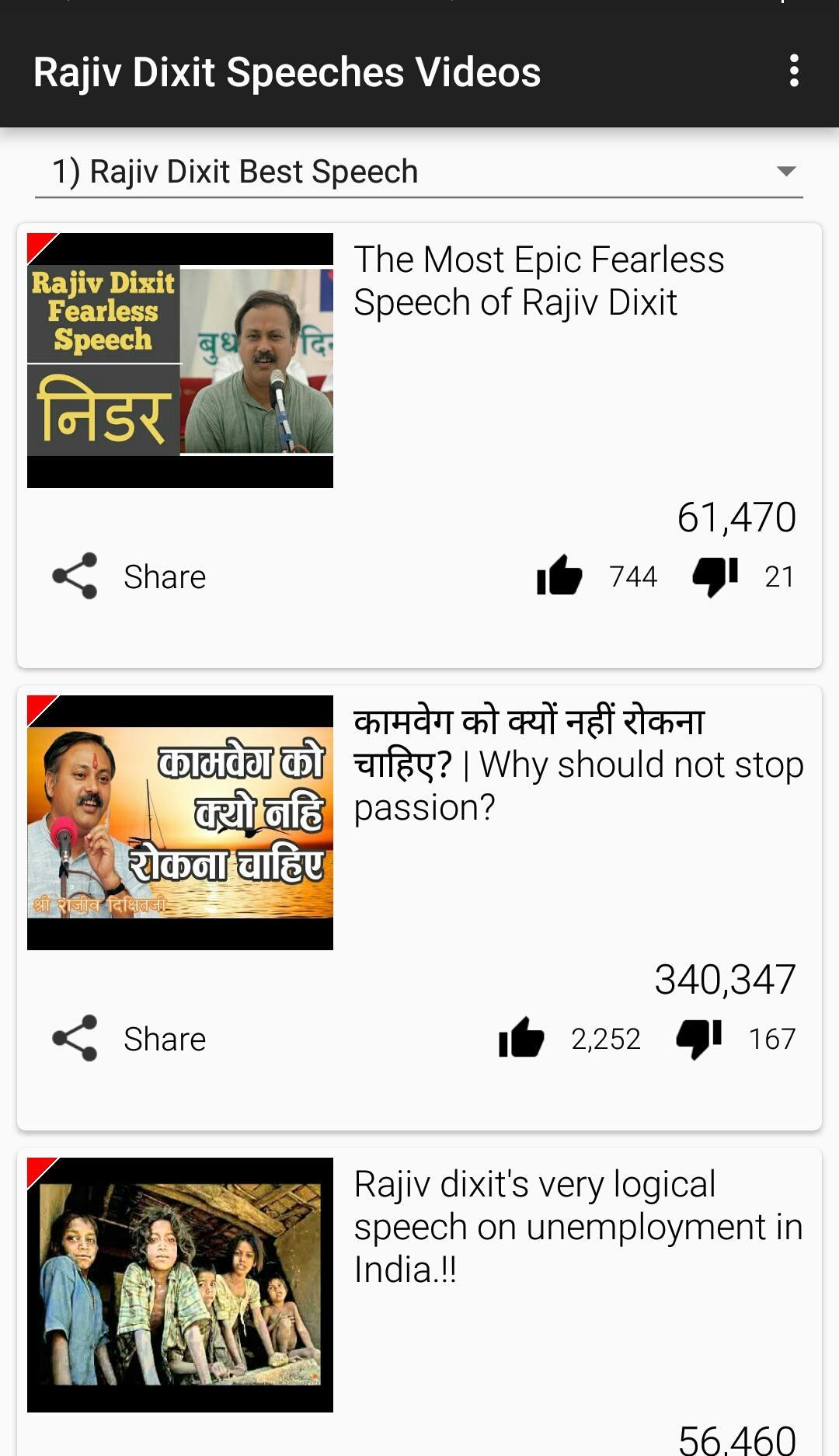Rajiv Dixit Speech HindiVideos for Android - APK Download