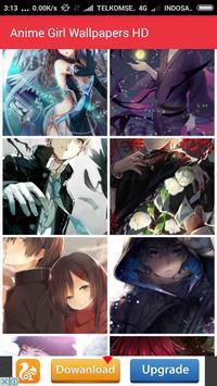Anime Girl Wallpapers HD apk screenshot