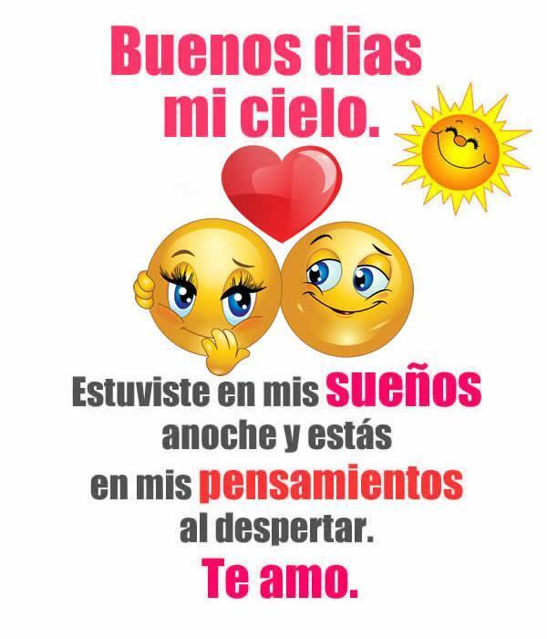 Buen Dia Mi Amor Imágenesfrases Für Android Apk Herunterladen