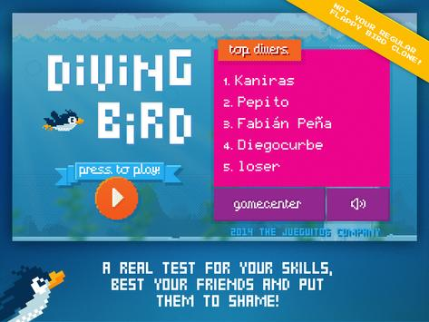 Diving Bird screenshot 5