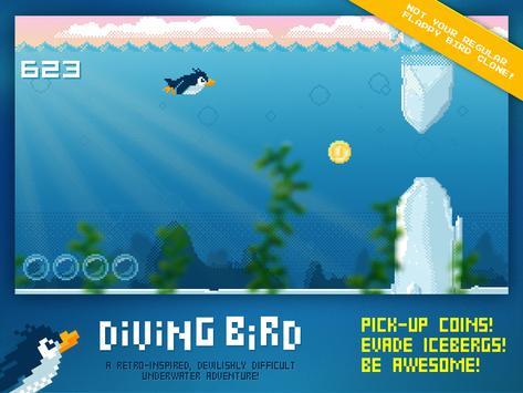 Diving Bird poster
