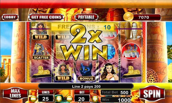 Cleopatra Slots Machines 2k18 screenshot 14