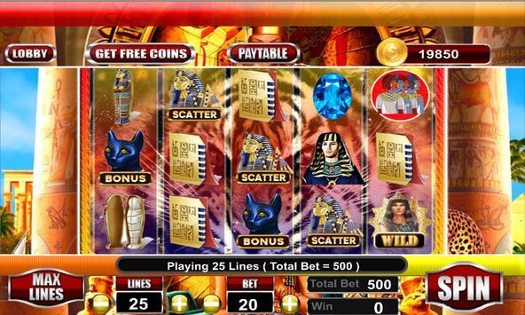 Cleopatra Slots Machines 2k18 screenshot 15