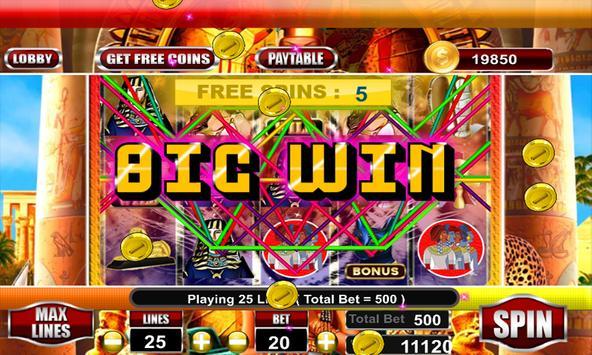 Cleopatra Slots Machines 2k18 screenshot 4