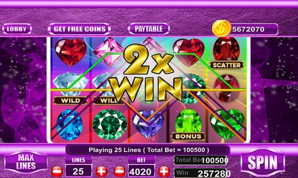 Free Bejeweled slot machine screenshot 8