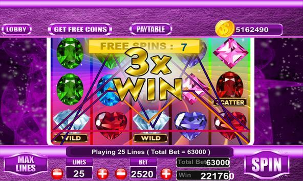 Free Bejeweled slot machine screenshot 2