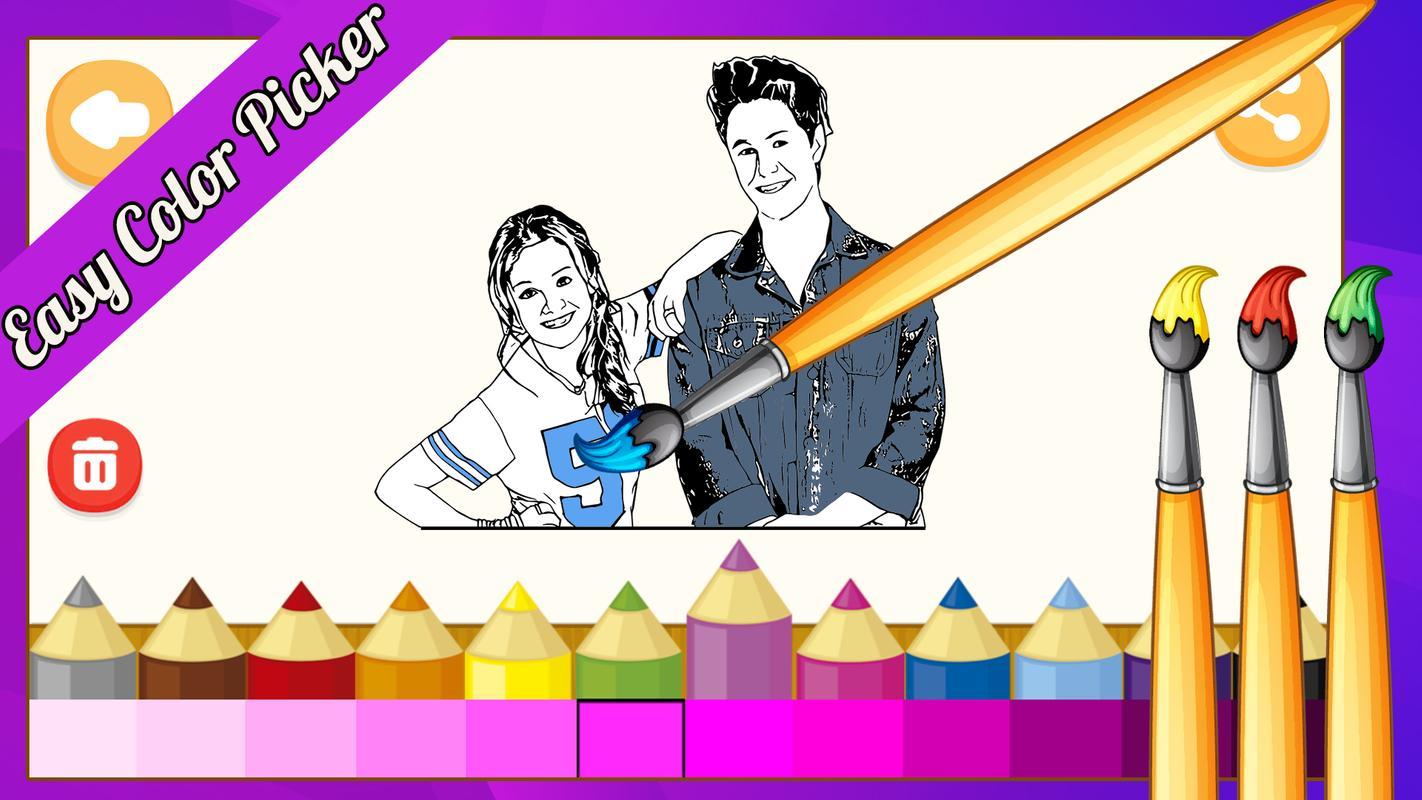 Imagenes De Soy Luna Colorear Website Wallpaperzenorg