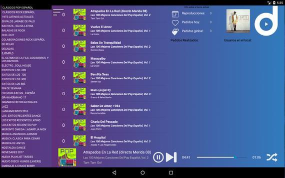 Jukmob player (Solo Clientes) screenshot 3