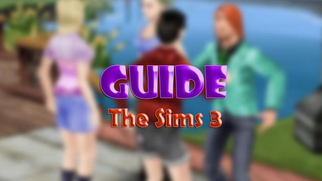 Guide for the Sims3 poster