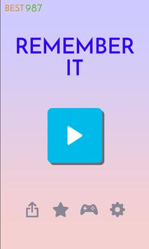 Remember It poster