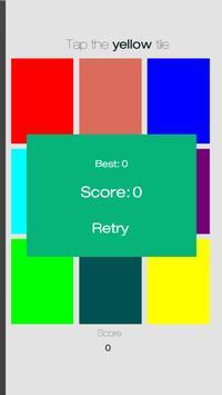 Don't tap the wrong tile! screenshot 1