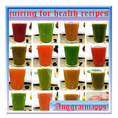 juicing for health recipes icon