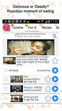 All about Korean cuisines!! apk screenshot