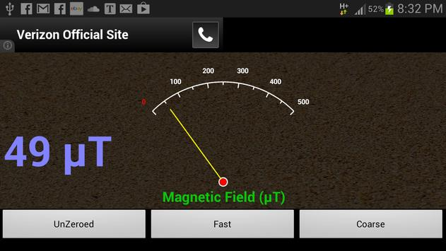 Metaloid Field Detector apk screenshot