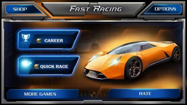 Corrida Rápida 3D -Fast Racing imagem de tela 4