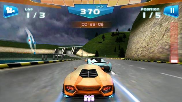 Corrida Rápida 3D -Fast Racing imagem de tela 5