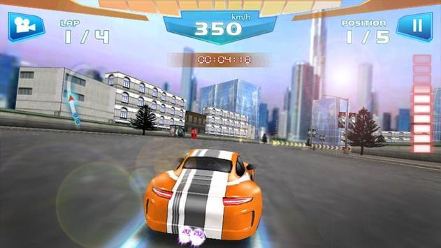 Corrida Rápida 3D -Fast Racing imagem de tela 2
