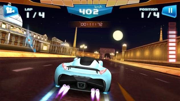 Corrida Rápida 3D -Fast Racing imagem de tela 3
