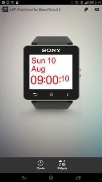 JJW Simplicity Watchface 1 SW2 poster
