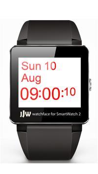 JJW Simplicity Watchface 1 SW2 apk screenshot