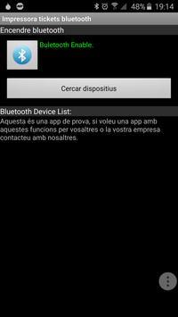 Bluetooth receipt printer poster