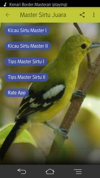 Kicau Sirtu Master Mp3 apk screenshot