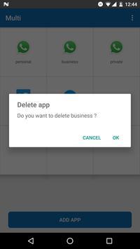 Multi-multiple accounts app apk screenshot