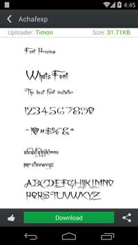 WhatsFont---Fonts For Android apk screenshot