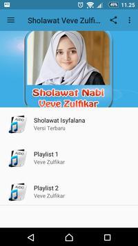 Sholawat Veve Zulfikar - Isyfalana poster