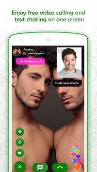 ... Dating - Gay Chat & Video Call captura de pantalla de la ...